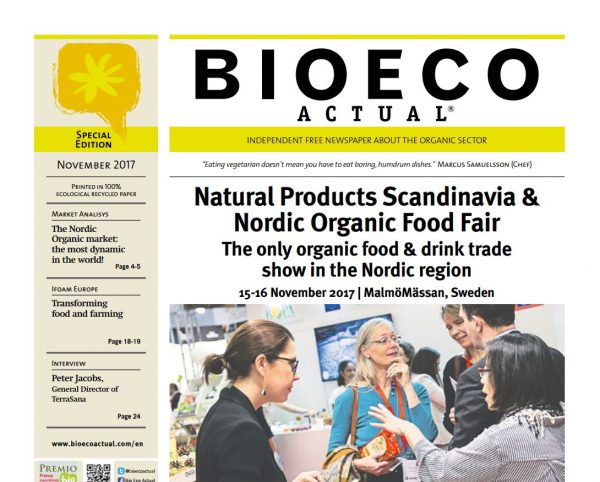 Natural Products Scandinavia & Nordic Organic Food Fair.