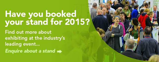 Have you booked your stand for 2014?