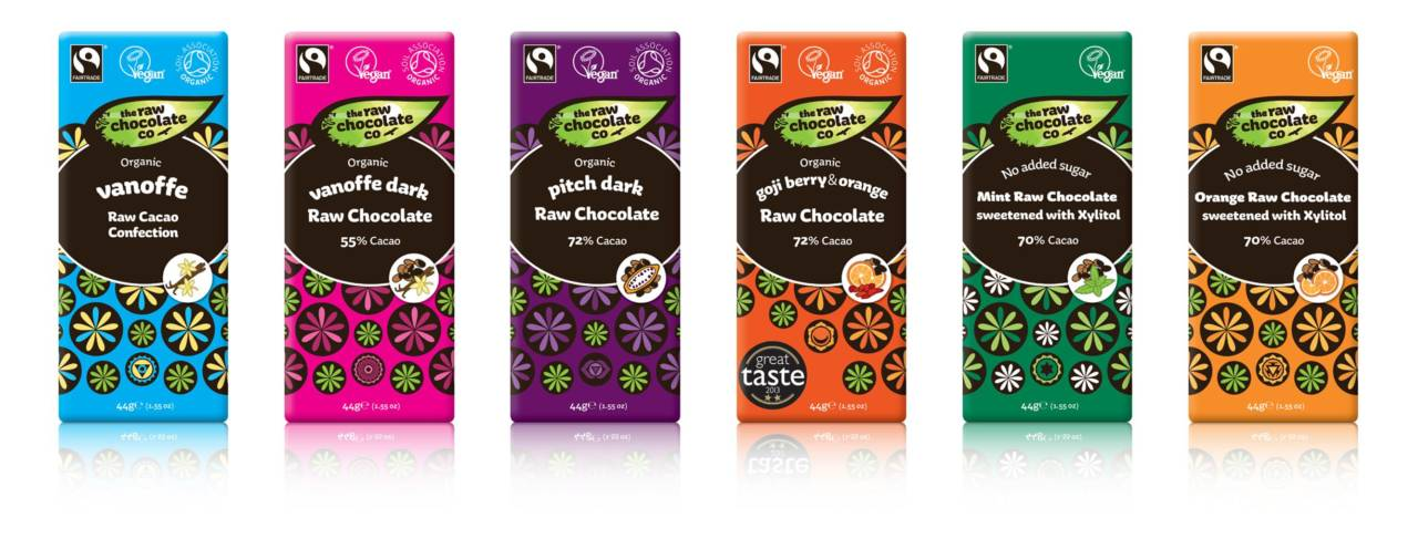 Exciting New Labels for The Raw Chocolate Company Launching at the ... a98a0a6cf180b